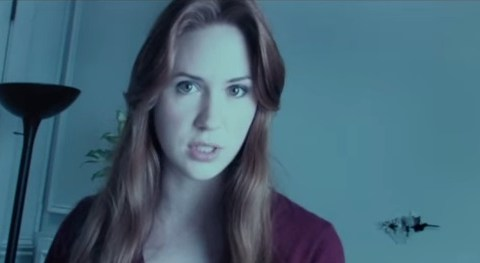 Things get a bit creepy in this tense clip from Karen Gillan horror flick Oculus
