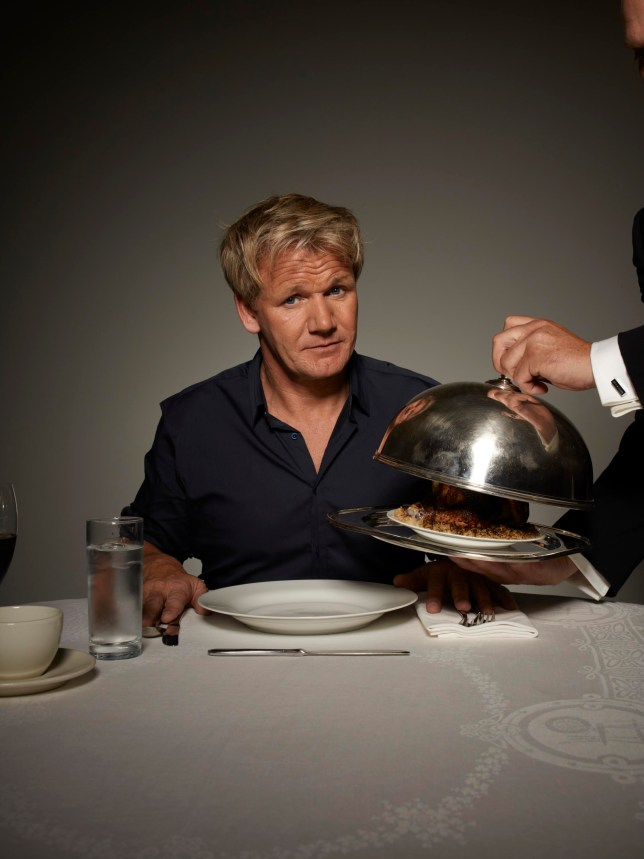Gordon Ramsay won't be carrying on with Kitchen Nightmares once this series ends (Picture: Channel 4)