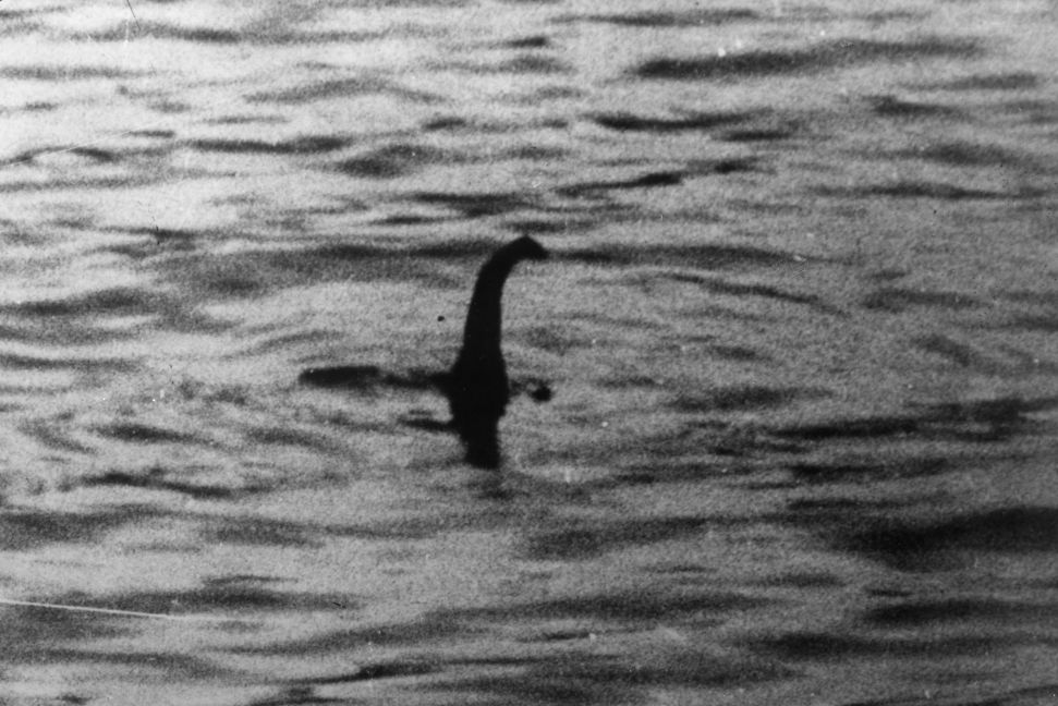 Loch Ness monster picture taken in 1934