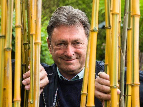 Alan Titchmarsh airlifted to hospital 'after eating fish & chips and an Easter egg'