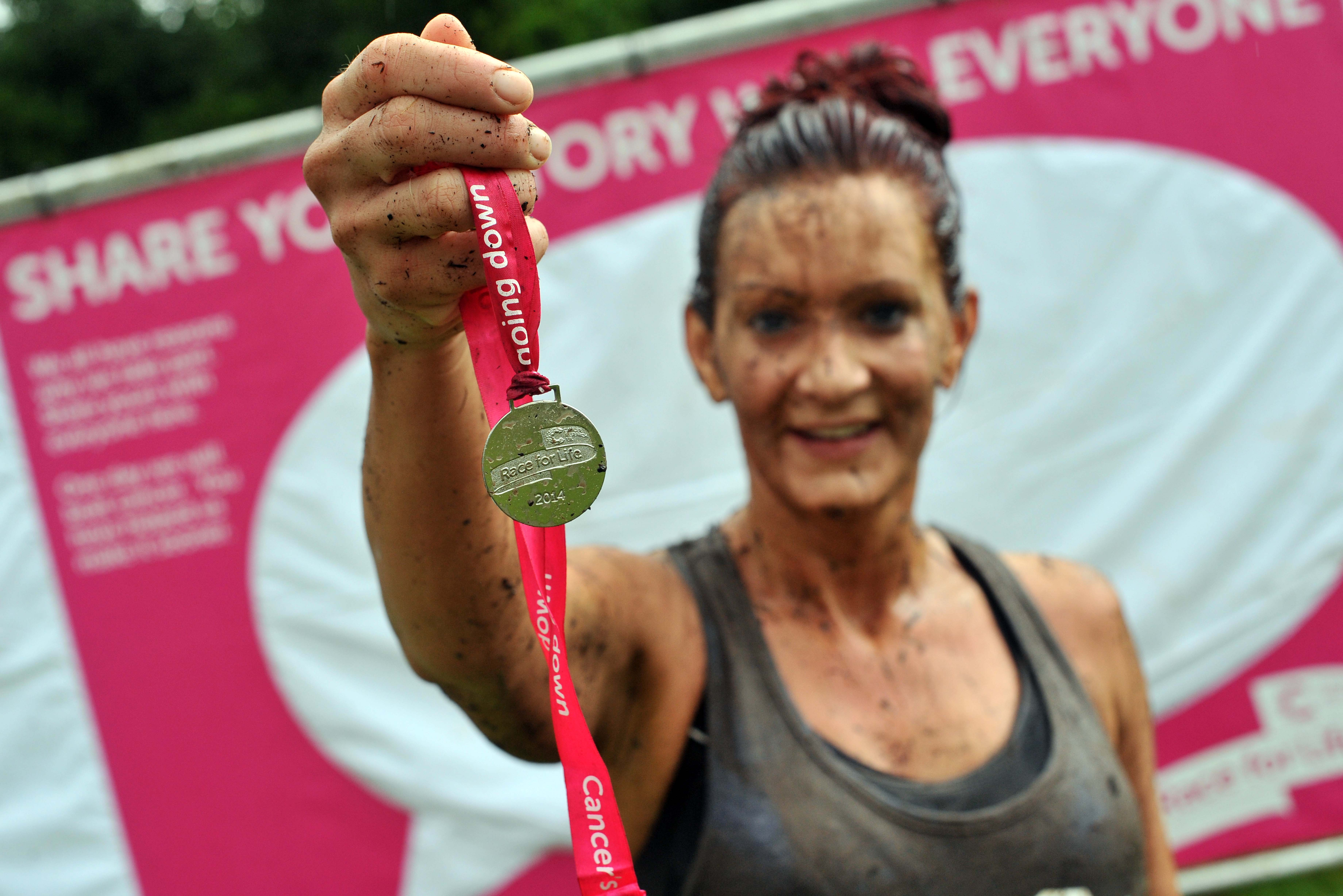 Race for Life: Not even a storm could dampen our spirits
