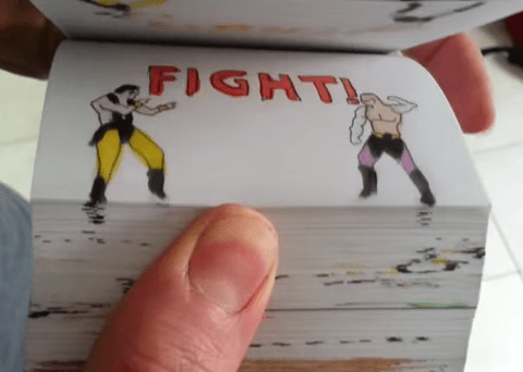 Incredible Mortal Kombat flipbook