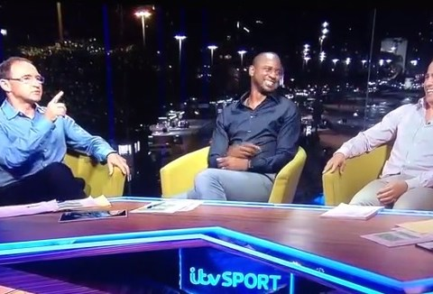 Brilliant! Watch Martin O'Neill destroy Adrian Chiles before taking on Patrick Vieira and Fabio Cannavaro