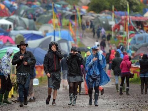 Glastonbury festival weather forecast: Rain, rain and more rain
