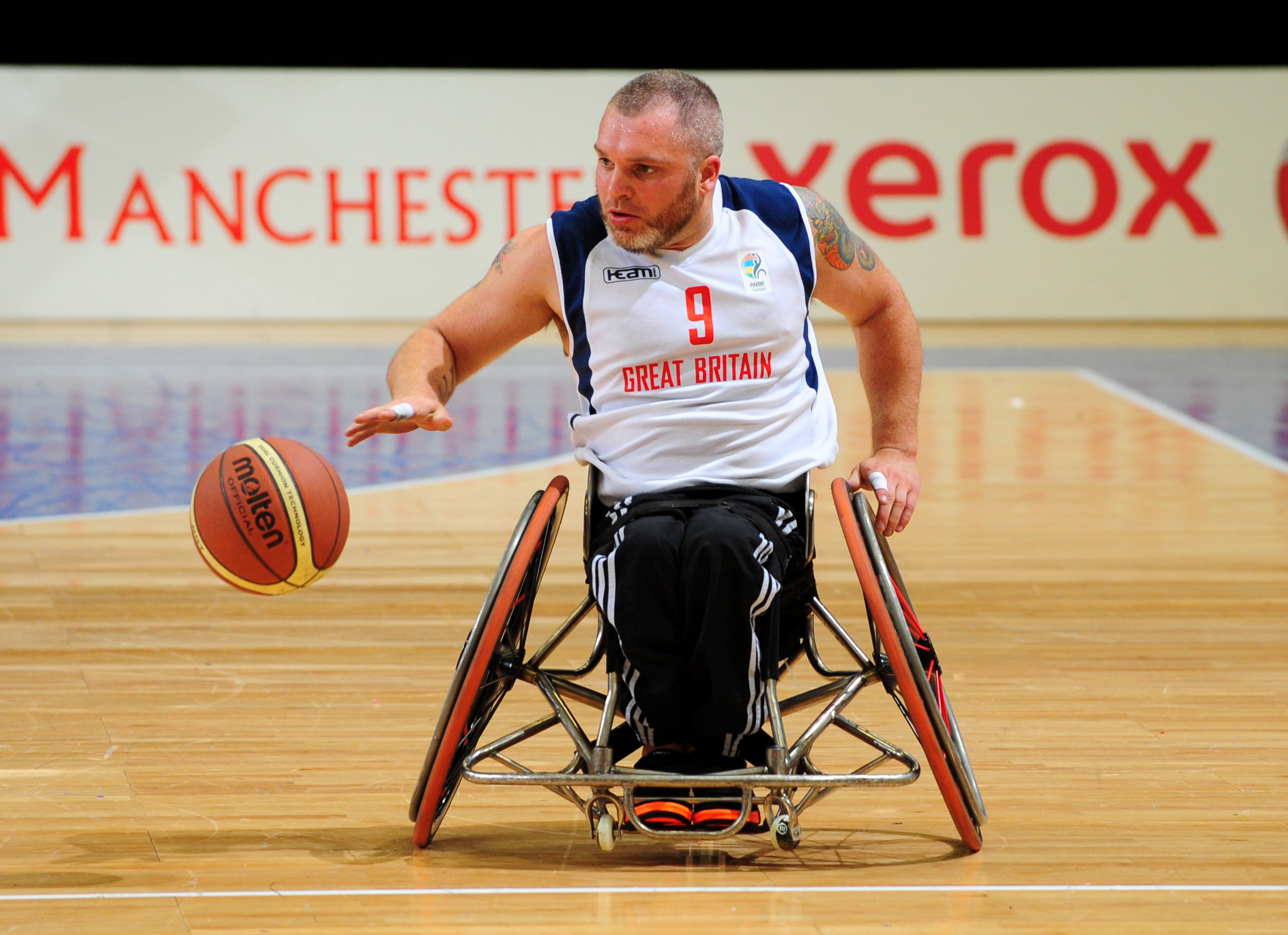 London 2012 wheelchair basketball star Jon Pollock: 'I've been tossed on the scrap heap'