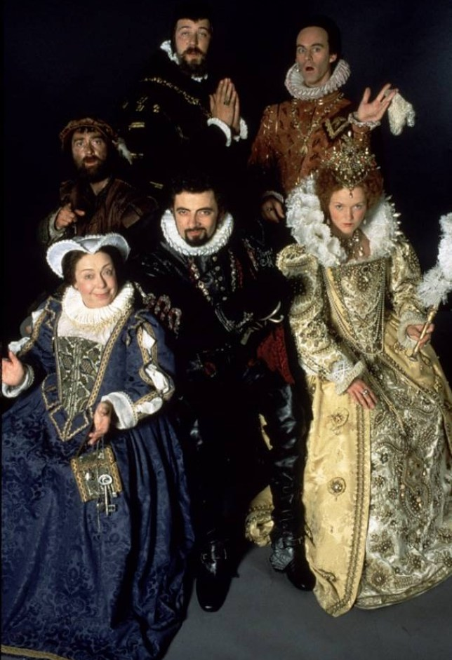 Television Programmes: BLACKADDER II-- Sat Sept 11 From 8.00pm-- Black Adder II England 1558, and the Blackadders once again bubble to the top of the melting pot of history, as Lord Edmund Blackadder (Rowan Atkinson), blessed with a big head and a small beard, tries to win the grace and favour of stark raving mad Queen Bess (Miranda Richardson). FOR FURTHER INFORMATION CONTACT THE UKTV PRESS OFFICE ON 0171 299 5000.