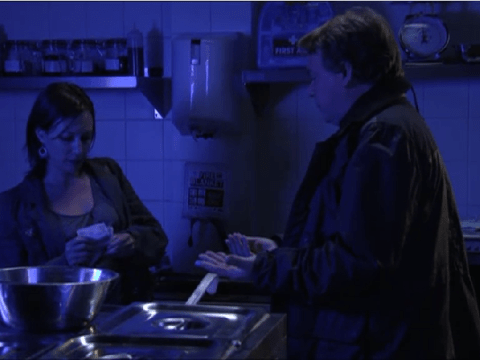 Rainie Cross returns to EastEnders to blackmail Ian Beale about night of Lucy Beale's murder