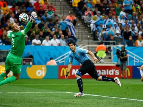 Luis Suarez goal gives Uruguay lead over England…it just had to be him