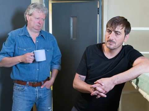Jim McDonald is back in Corrie and he's got a big surprise for Peter Barlow