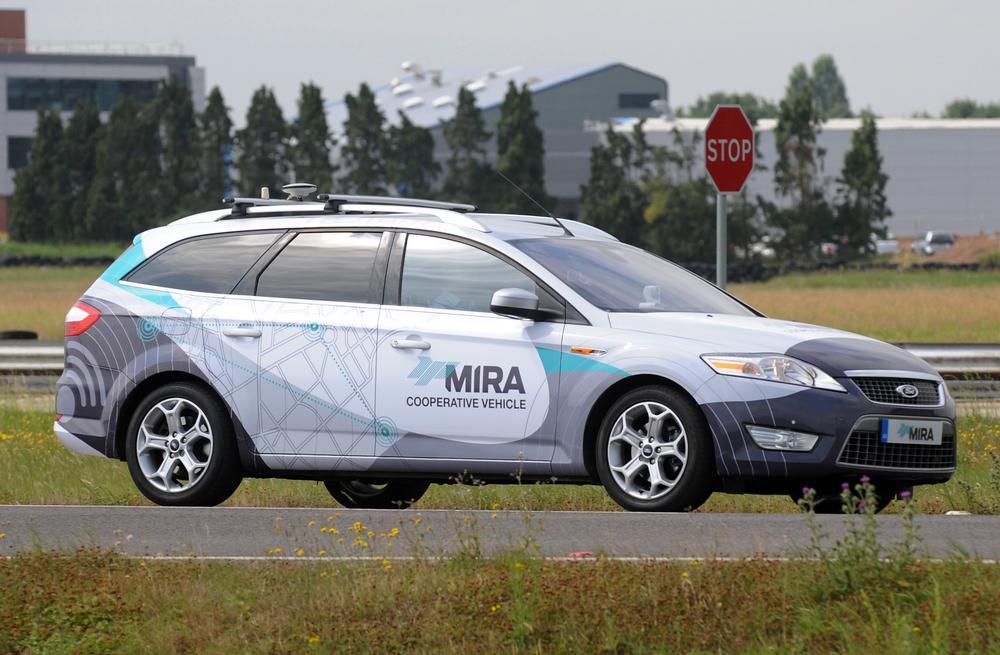 Driverless cars to hit British roads next year