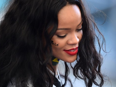 Rihanna shows up at the World Cup final (and shows her support for Germany in swimsuit snap)