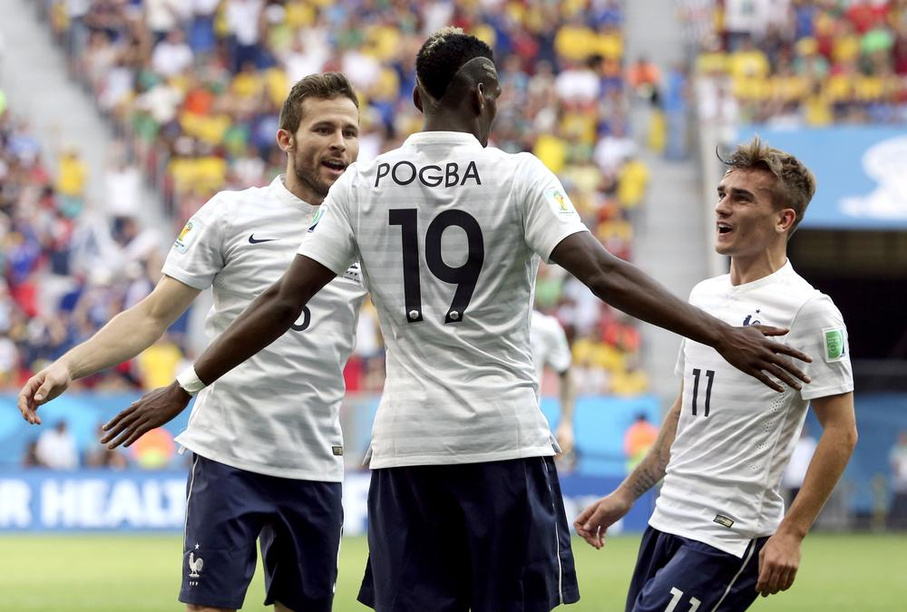 Paul Pogba's influence ready to shine as France advance past Nigeria