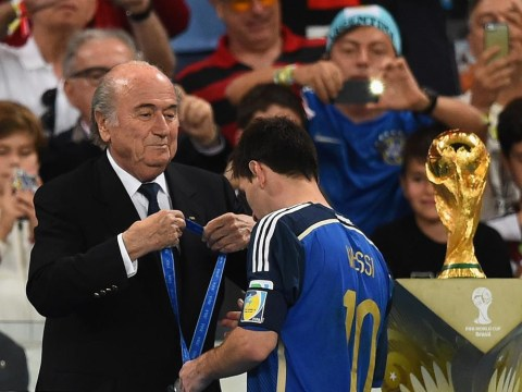 Sepp Blatter 'surprised' at Lionel Messi golden ball award and admits he 'feels' for Luis Suarez