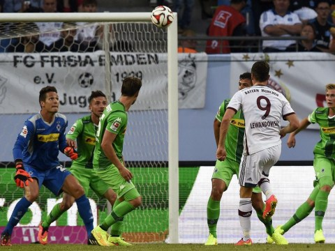 Watch Robert Lewandowski score audacious goal for Bayern Munich in pre-season