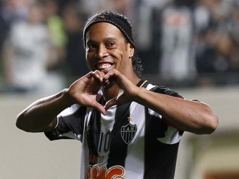 Watch Ronaldinho pull off nutmegs, no-look passes and lobs in classic UNICEF performance