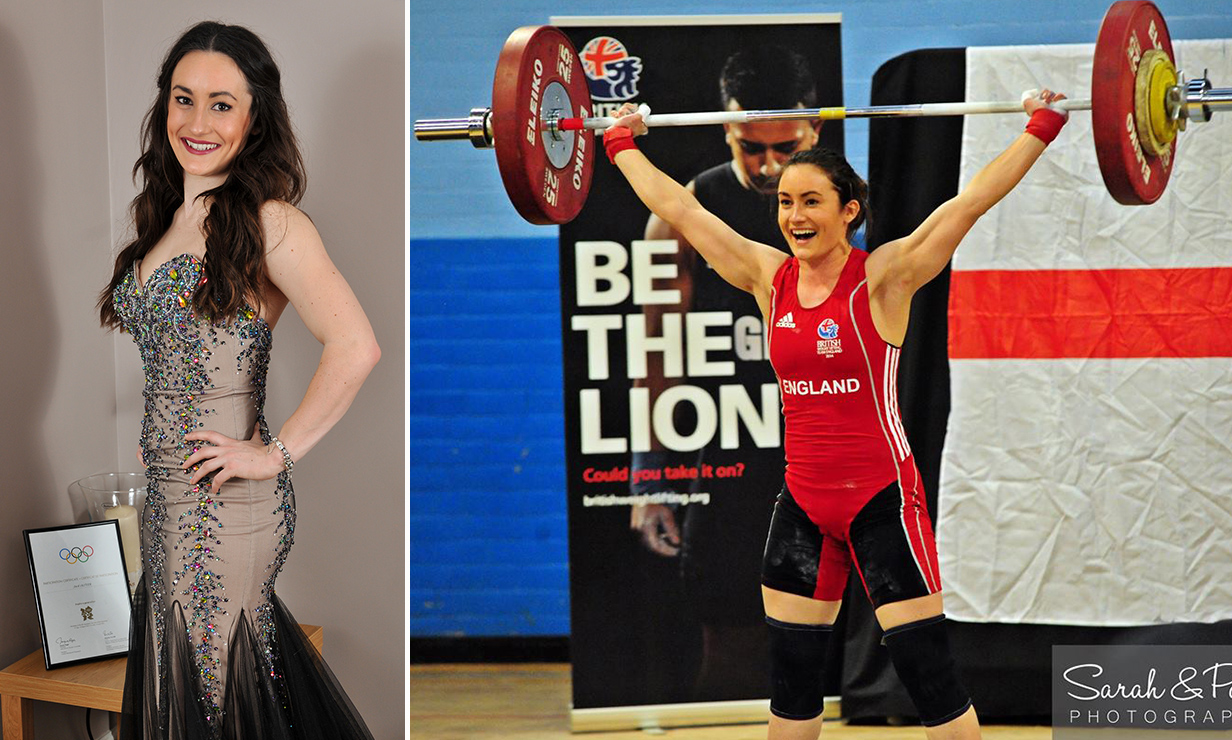 So strong IS the new sexy: Former Miss Leeds to represent England in weightlifting