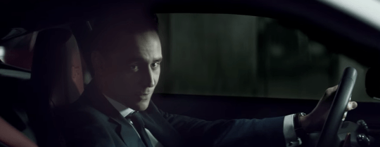 Most of the advert takes place in an underground car park (Picture: Jaguar USA/YouTube)
