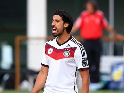 Arsenal target Sami Khedira suffers World Cup final heartbreak after injuring himself in warm-up