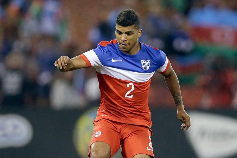 SAN FRANCISCO, CA - MAY 27: DeAndre Yedlin #2 of the United States in action against Azerbaijan during their match at Candlestick Park on May 27, 2014 in San Francisco, California. (Photo by Ezra Shaw/Getty Images) Ezra Shaw/Getty Images