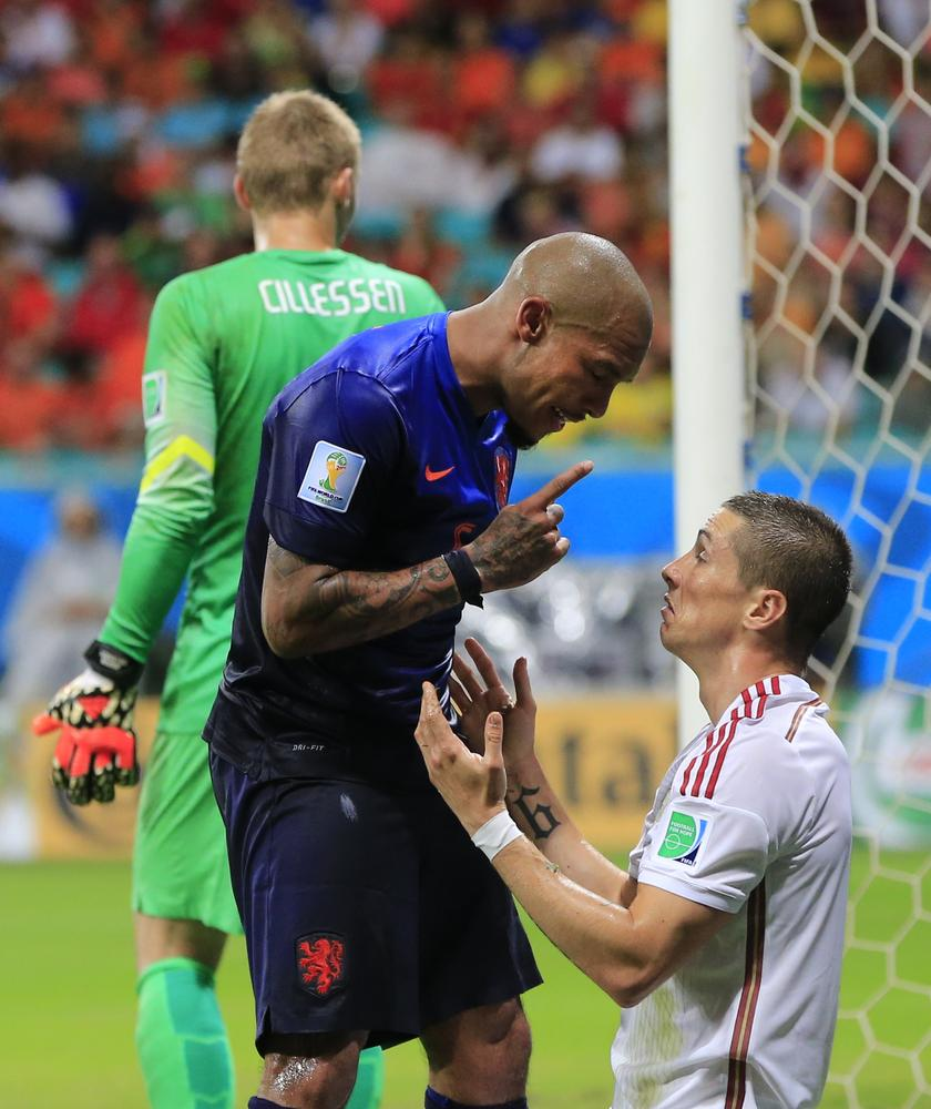 Can Netherlands cope against Costa Rica without the injured Nigel de Jong?