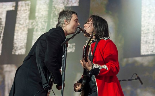 Libertines perform at Hyde Park