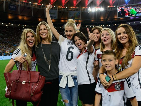 Pictures: Germany and celebs celebrate Brazil world cup final 2014 win