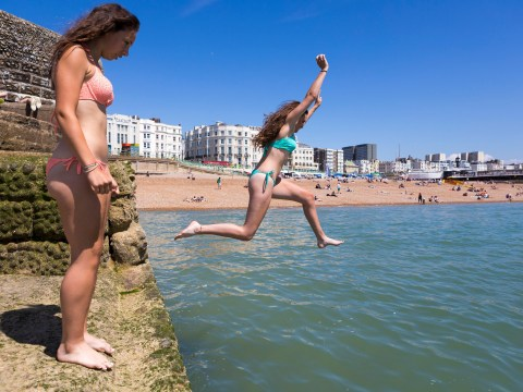 Scorchio: Temperatures soar to highest of the year as the UK basks in glorious sunshine