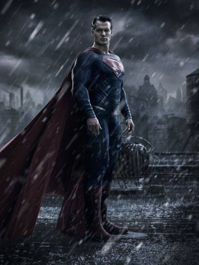 Henry Cavill is playing Superman for the second time (Picture: Warner Bros)