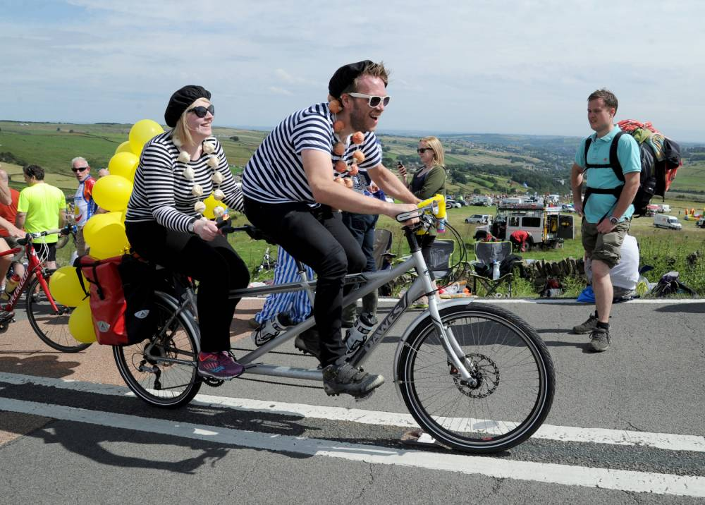 More than a million cycling fans light up Tour de France 2014 in Yorkshire