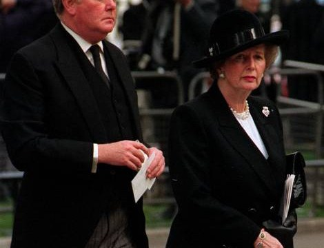 Thatcher told about top Tory's under-age sex parties with boys, claims bodyguard