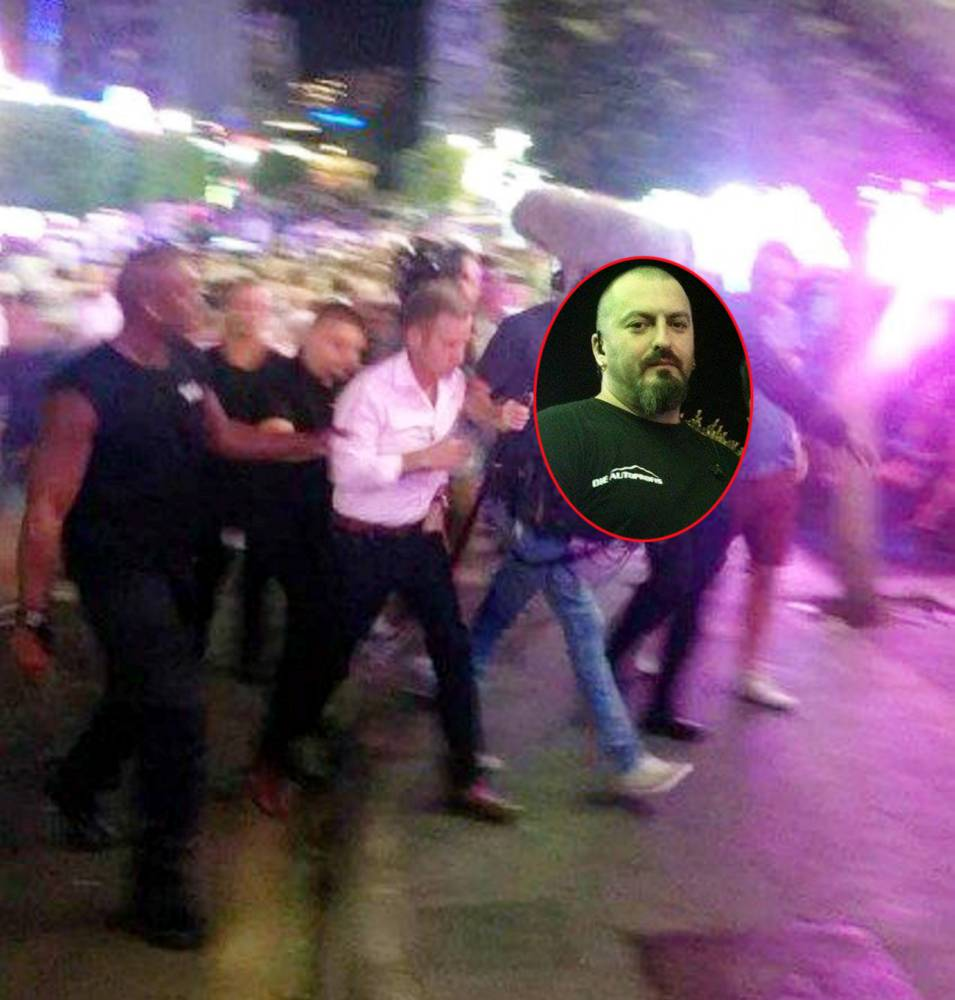 Bouncer pepper sprayed Jeremy Kyle because 'he was making Magaluf look bad'