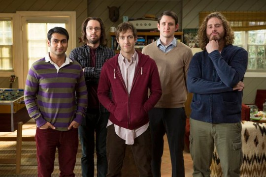 Silicon Valley, Season 1, Sky Atlantic HD..Silicon Valley; Season 1, Thomas Middleditch as Richard. Josh Brener as Big Head