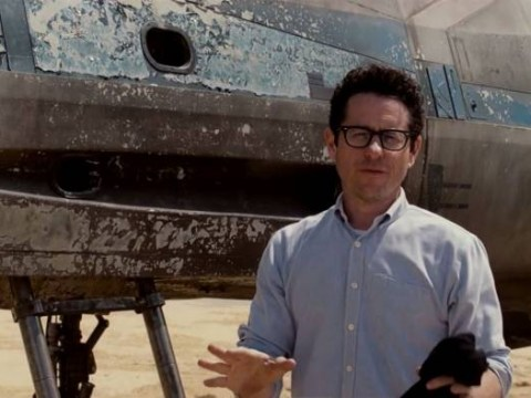 JJ Abrams (with an X-Wing) offers fans chance to win a private Star Wars Episode VII screening