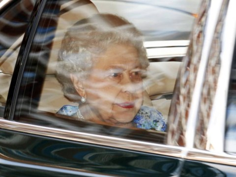 The Queen drops in to join George's 1st birthday at Kensington Palace