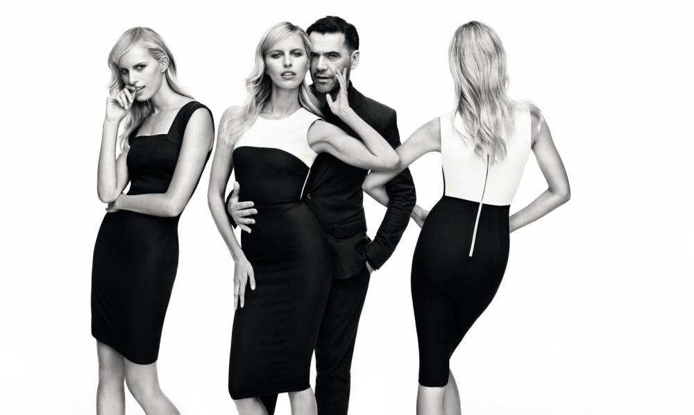 Roland Mouret brings the va-va-voom dresses loved by Victoria Beckham and Kate Middleton to the high street