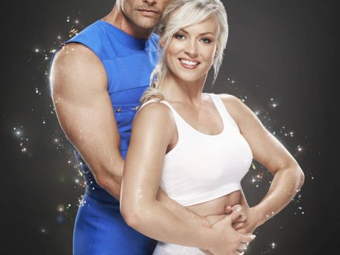 John Partridge and his flawless acrobatics have made him the favourite to win Tumble