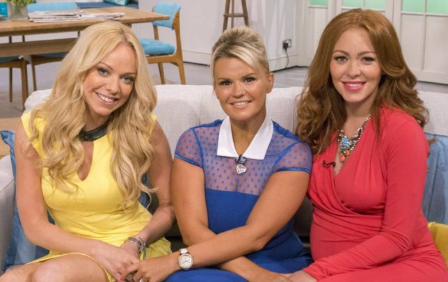Editorial Use Only. No merchandising Mandatory Credit: Photo by Steve Meddle/ITV/REX (3986522a) Atomic Kitten - Liz McClarnon, Kerry Katona and Natasha Hamilton 'Lorraine Live' TV Programme, London, Britain - 29 Jul 2014 ATOMIC KITTEN Atomic Kitten will be joining Kate to talk about babies, big reunions and being back on stage this summer.