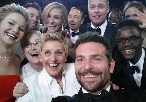 Call a group selfie an 'usie', and you might find yourself standing alone