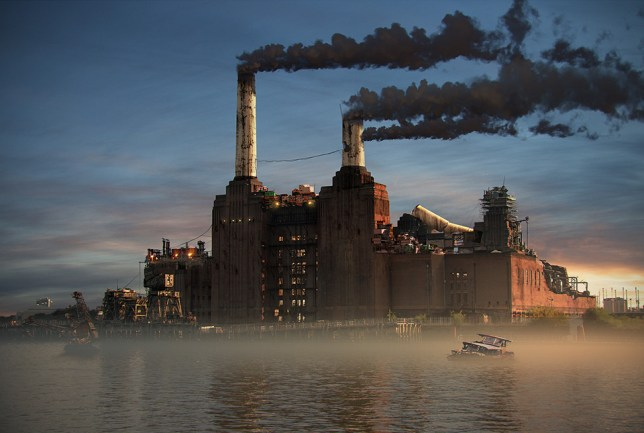 At least Battersea Power Station is being used again