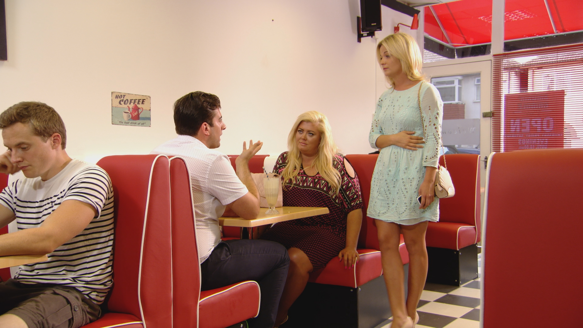 TOWIE 2014: Lydia Bright's sister Georgia puts James 'Arg' Argent in his place while Lauren Pope takes on Danielle Armstrong