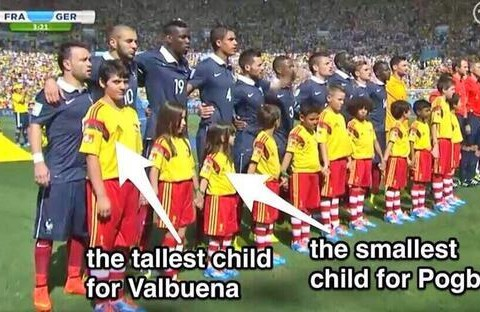 Did Fifa deliberately troll Mathieu Valbuena by giving him tall mascot?