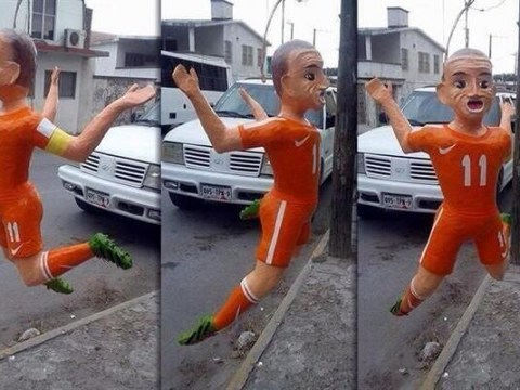Sick of Arjen Robben diving? You can now beat him up with new Robben pinata