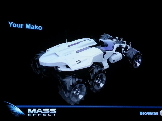 Mass Effect 4 - the Mako is back