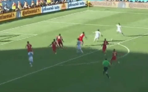 Drama! Watch Angel Di Maria's late goal dump Switzerland out of World Cup