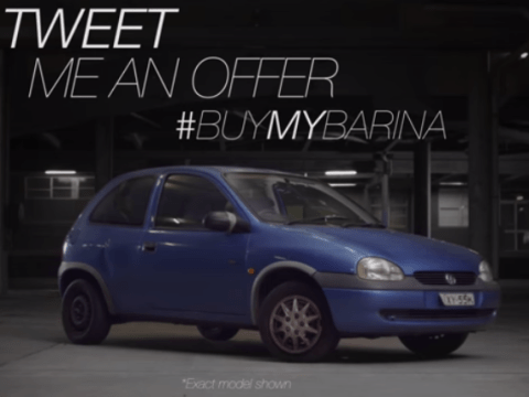 This is how you sell a car: Seller creates advert with ridiculous production values to sell his old car