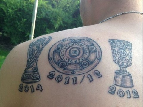 Kevin Grosskreutz shows off ugly World Cup tattoo despite not playing a single minute in Germany triumph