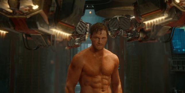 Guardians lead Chris Pratt (Picture: Rex)