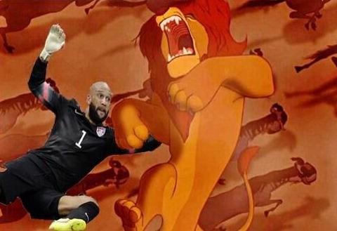 Tim Howard's heroic display against Belgium sees fans praise USA goalkeeper with #ThingsTimHowardCouldSave