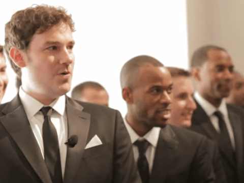 The story behind this brilliant walk down the aisle will melt your heart