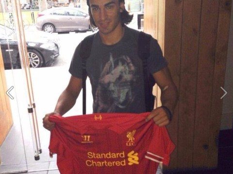 Lazar Markovic shows his excitement at Liverpool move with pictures in Merseyside
